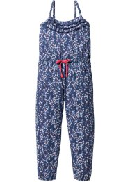 Jumpsuit, bpc bonprix collection, indigo/wollweiss bedruckt