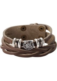 "Armband ""Elisa"", bpc bonprix collection, braun"