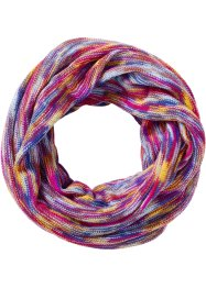 Loop-Schal bunt, bpc bonprix collection, fuchsia/multi