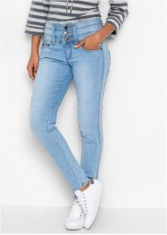 "Jean power stretch ""ventre jambes fessiers remodelés"" SLIM, John Baner JEANSWEAR, bleu clair new"