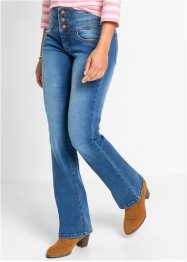 "Jean power stretch ""ventre plat bootcut"", John Baner JEANSWEAR, bleu"