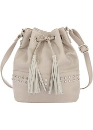 Beuteltasche, bpc bonprix collection, grau