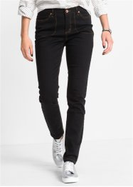High-Waist Skinny, RAINBOW, schwarz