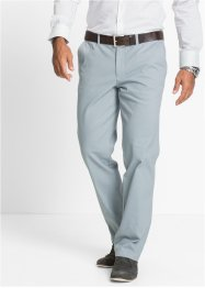 Stretch-Chino im Regular Fit Straight, bpc selection, silbergrau