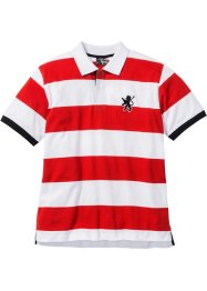 Polo, bpc selection, rouge/blanc rayé