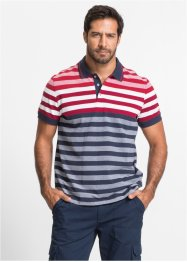 Polo rayé Regular Fit, bpc selection