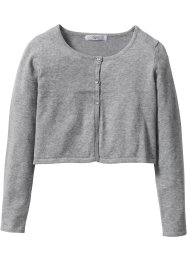 Cardigan, bpc bonprix collection, gris clair chiné