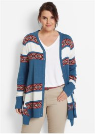 Strickjacke, bpc bonprix collection, gestreift