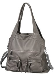 Handtasche, bpc bonprix collection, grau