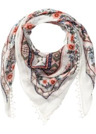 Foulard avec bordure au crochet, bpc bonprix collection