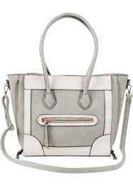 Handtasche »Trapez«, bpc bonprix collection, rosé/grau
