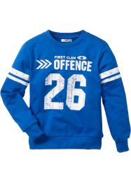 College Sweatshirt, bpc bonprix collection, azurblau