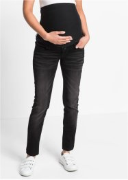 Super-Stretch Umstandsjeans, Skinny, bpc bonprix collection, black stone