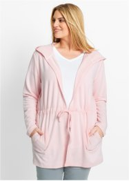Veste sweat-shirt, bpc bonprix collection, rose nacré