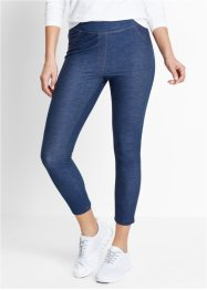 7/8-Leggings in Jeansoptik, bpc bonprix collection, indigo