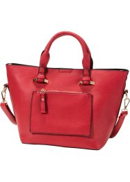Henkelshopper medium, bpc bonprix collection, rot