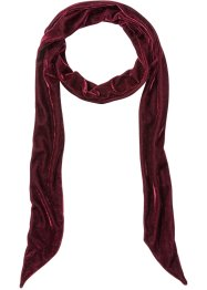 Long foulard en velours, bpc bonprix collection, bordeaux