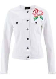 Veste en jean, bpc selection, blanc denim