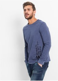 Langarmshirt Slim Fit, RAINBOW, blau