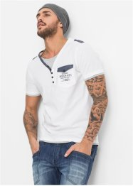T-Shirt Slim Fit, RAINBOW, weiss