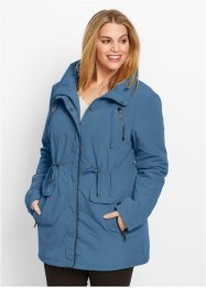 Parka-Jacke, bpc bonprix collection, jeansblau