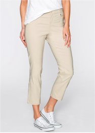 Pantalon extensible 7/8, bpc bonprix collection, beige galet