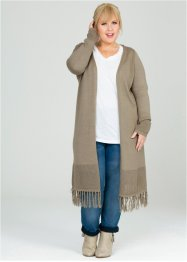 Manteau en maille - designed by Maite Kelly, bpc bonprix collection, new kaki