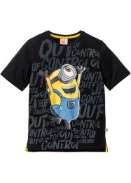 T-shirt MINIONS, Despicable Me, noir