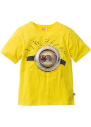 T-shirt MINIONS, Despicable Me, jaune