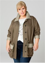 Parka - designed by Maite Kelly, bpc bonprix collection, vert kaki
