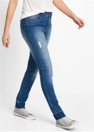 Jeans mit offenem Saum - designt von Maite Kelly, bpc bonprix collection, blue stone used