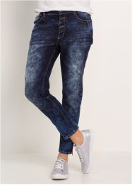 Boyfriend-Stretch-Jeans, bpc bonprix collection, dark denim