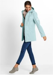 Softshell Longparka, bpc bonprix collection, pastellmint
