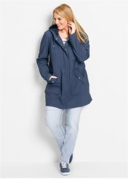 Parka softshell, bpc bonprix collection, indigo chiné