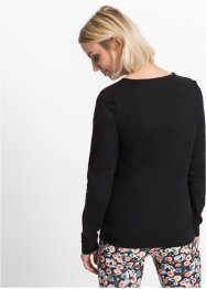 Langarmshirt mit Cut-Out, RAINBOW