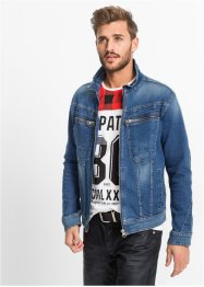 Stretch-Jeansjacke Regular Fit, RAINBOW, blue used