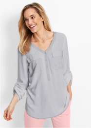 Viskose-Bluse, Langarm, bpc bonprix collection