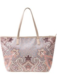 Shopper paisley avec strass, bpc bonprix collection