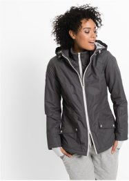 Veste longue fonctionnelle outdoor style 2en1, bpc bonprix collection
