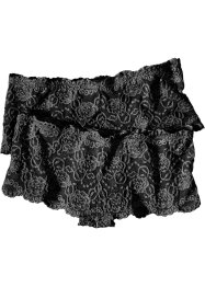 Panty (2er-Pack), bpc bonprix collection, schwarz