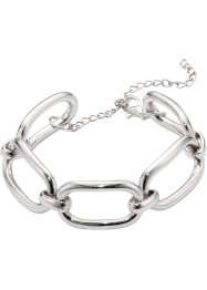 Bracelet à maillons, bpc bonprix collection, argenté