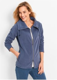 Veste polaire, bpc bonprix collection, indigo