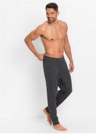 Pyjamahose aus Sweatware, bpc bonprix collection, anthrazit meliert
