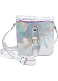 Kindertasche Metallic, bpc bonprix collection, silberfarben