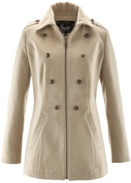 Manteau court, bpc bonprix collection, beige