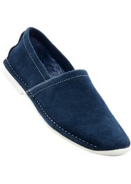Lederslipper, bpc bonprix collection, dunkelblau