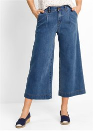 Weite 7/8-Jeans, bpc bonprix collection, blue stone