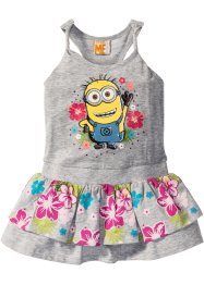 """MINIONS"" Jerseykleid, Despicable Me, hellgrau meliert ""MINIONS"""
