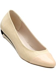 Keilballerina, bpc selection, nude/gold
