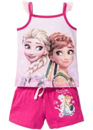 """FROZEN"" Top + Shorts (2-tlg. Set), Disney, pink bedruckt ""FROZEN"""